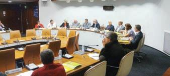 La réunion d'installation a eu lieu dans les locaux du conseil régional.