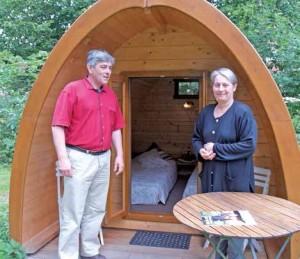Les hébergements insolites de Nicole et Philippe Varlet à Vermand attirent chaque année plus de 3 000 visiteurs.