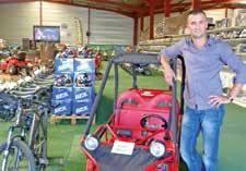 Fabien Dessaint est l'un des plus importants importateurs de minicycles chinois en France.