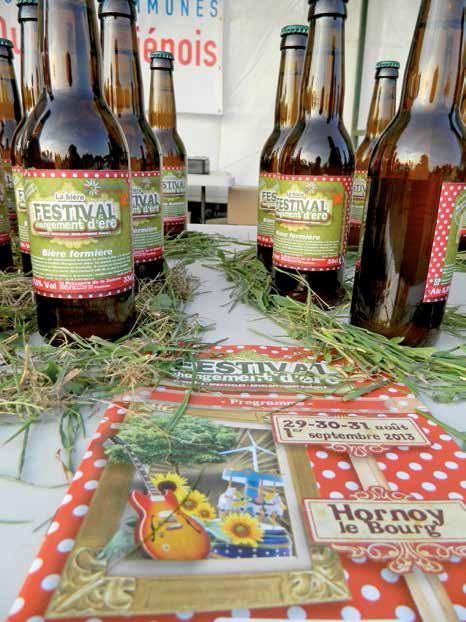 La bière proposée à l'occasion du festival était brassée par la Brasserie de la Somme.