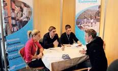 Le salon permet aux candidats et entreprises de se rencontrer. Cette année, 500 postes sont proposés.