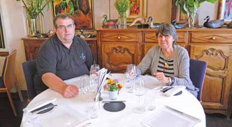 Marie-Christine Klopp, propriétaire de la Flamiche et Eric Gachignard, chef de l'établissement sont des habitués de l'opération.