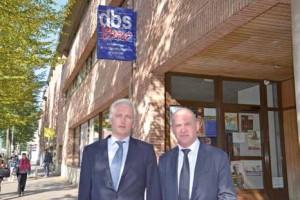 Thierry Mistral Bernard, à gauche, est directeur général de DBS depuis six ans.