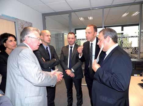 L'équipe de six conseillers est dirigée par Grégory Louchet.