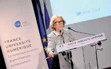 Geneviève Fioraso, ministre de l'enseignement supérieur.
