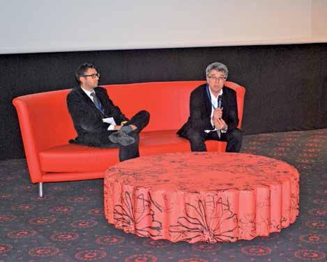 Nicolas Blangy (à g.), directeur de PRM Bâtiment et Nicolas Duhamel de Centre d'affaires Métropole Amiens.