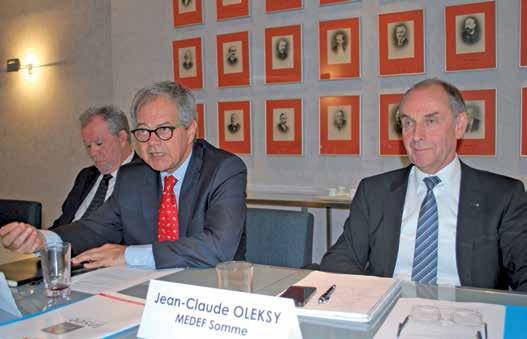 Les représentants du Medef Picardie ne sentent pas de redémarrage proche de l'économie régionale.