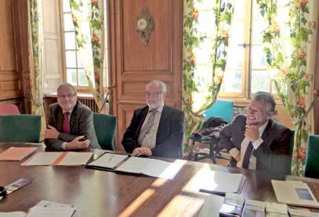 (de g.à d.), Michel Szymanski, Alain Thierry et Jean-Claude Ester.