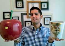 Julien Lira da Rocha, 28 ans, travaillé auparavant dans le milieu de l'art.