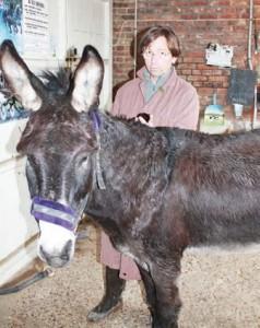 Même les ânes ont parfois besoin d'être mis sous antibiotiques par le docteur Tribalat.