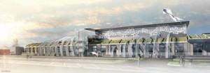 La Halle Sernam, futur poumon de la ville.