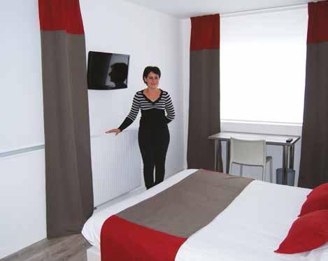 Céline et Harry ont fait de gros investissements pour aménager cinq chambres spacieuses et modernes.
