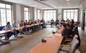 La réunion annuelle 2013 du Comité régional d'intelligence économique en Picardie.