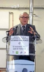 Avec cette nouvelle compétence, la Région entend lutter contre la fracture énergétique picarde, comme l'a expliqué son président lors de l'inauguration du SPEE.