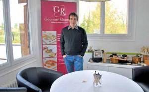 Stéphane Cabuzel a créé Gourmet Réception il y a plus de dix ans à Amiens.