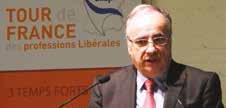 Michel Chassang, président de l'UNAPL a été élu en 2013 pour un mandat de trois ans.