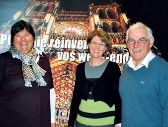 Françoise Leturcq, Véronique Lusson et Alain Dupont lors de la rencontre acteurs du tourisme.