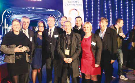 L'équipe au complet des permanents d'Initiative Oise Est.