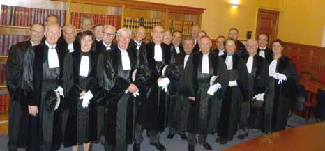 Lors de cette audience solennelle de rentrée trois nouveaux juges, Dominique Dietsch, Jean-Paul Drain et Laurent Proy ont accepté de donner de leur temps à la juridiction après avoir prêté serment.