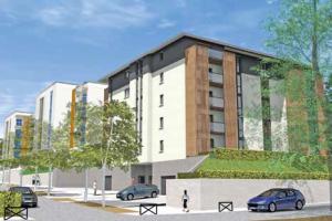 Avec la communauté d'agglomération du Soissonnais et la SEDA, Eric Pace va bâtir ses logements pour des primo-accédants.