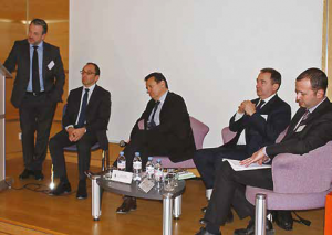 Jean-Lou Blachier, au centre, encourage fortement les entrepreneurs à « oser la commande publique » et s'engage à intervenir dans les cas litigieux.