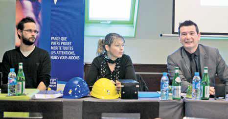 (de g. à d.) Vincent Fauré, futur chef d'entreprise, Virginie Legras, correspondante ICRE de lOise et Carlos Martins, directeur ICRE Picardie.
