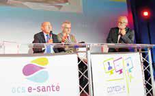 Dr Pierre Simon, président de l'Association nationale de télémédecine (ANTEL) et Eric Guyader, administrateur du GCS e-Santé Picardie et directeur du Centre Hospitalier de Beauvais