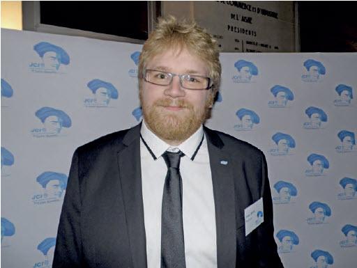 Simon Lebrun, le président de la JCE de Saint-Quentin.