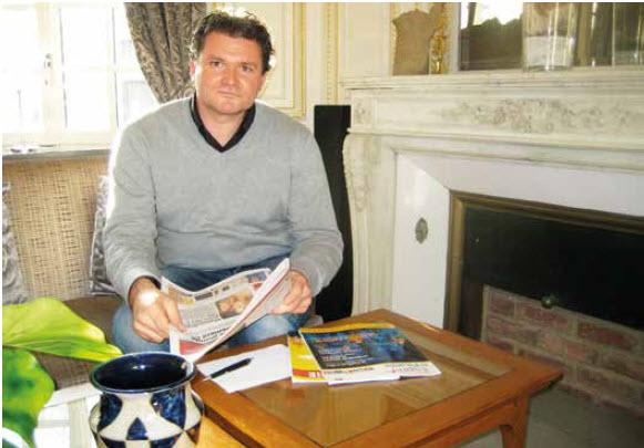 Olivier Langlet, l'expert du marketing et de la stratégie média.