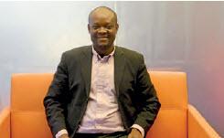 Benjamin Mendou, fondateur d'Agrotescol, un bureau d'étude en fertilisation raisonnée des cultures et de la gestion des sols.