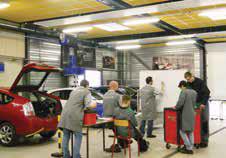 L'IREAM compte aujourd'hui 178 apprentis au sein de son pôle automobile.