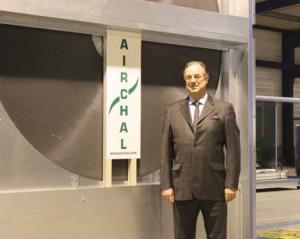 Airchal est capable de faire de des petites centrales pour des maisons jusqu'à des plus grosses : soit 300 000 m3/ heure.