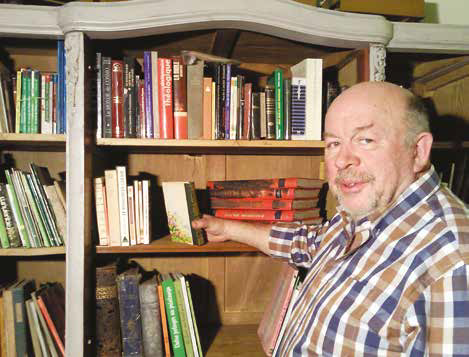 Yves Coutant veut donner une deuxième vie aux livres.
