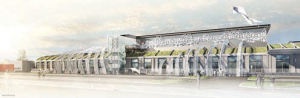 La Halle Sernam sera achevée au printemps.