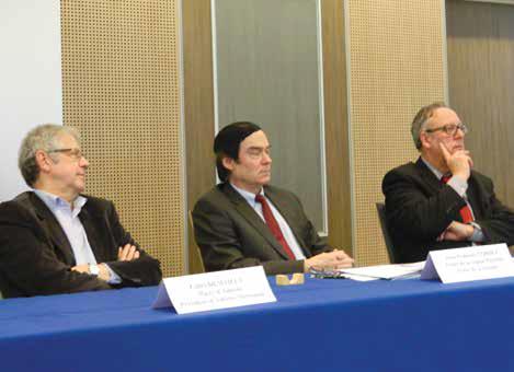 Gilles Demailly, Jean-François Cordet et Christian Manable portent une attention particulière aux territoires sensibles et à l'insertion des jeunes en situation de handicap