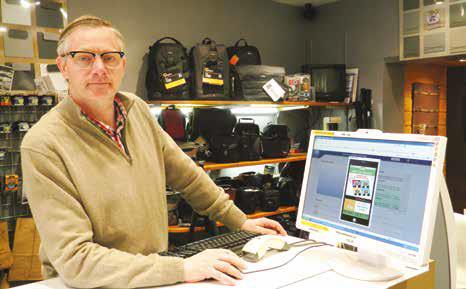 L'application FlashPromo permet à Hugues Malot de gérer en toute autonomie ses actions commerciales