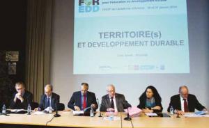 Des acteurs engagés dans l'éducation au développement durable pour faire le lien entre école et territoires.