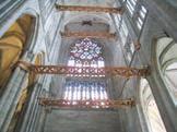 Le projet de suppression des étaiements internes de la cathédrale de Beauvais, une des actions patrimoniales de la Drac Picardie.