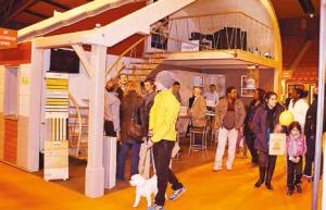 Le 9e Salon de l'habitat réservait quelques belles surprises, comme le stand commun de BSP et Ixina réalisé sur deux niveaux.