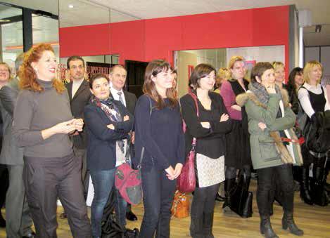 """Lancement du réseau de femmes """"Des elles pour toutes"""" devant des représentantes d'entreprises, associations et collectivités locales."""