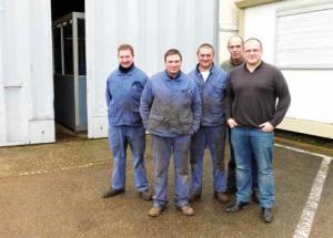Sept salariés licenciés de l'entreprise Thévenon ont rassemblé leurs indemnités pour créer RGBH.