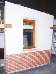 Novhisol conçoit murs préfabriqués, et pré-équipés.