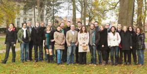 L'équipe H2air, parc de l'évêché à Amiens. L'entreprise va bientôt lancer une campagne de recrutement pour mener à bien tous ses projets.