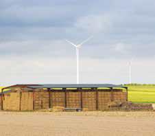 Le parc éolien Seine-Rive-Gauche Sud, inauguré le 7 juin 2013 dans l'Aube, comptant 16 éoliennes