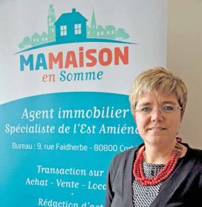 La valeur ajoutée de l'agence de Noëlle Dransart : proposer des services annexes.