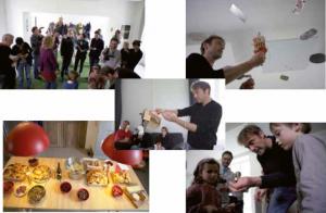 Les services culturels soutiennent également la création, notamment avec les résidences d'artistes comme celle de Marc Pellaton à Lizières.