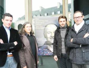 Emmanuel Pascual, Carole Dauphin-Soulabaille, Olivier Joly et Samuel Ridoux espèrent faire de ces portes ouvertes un rendez-vous incontournable.