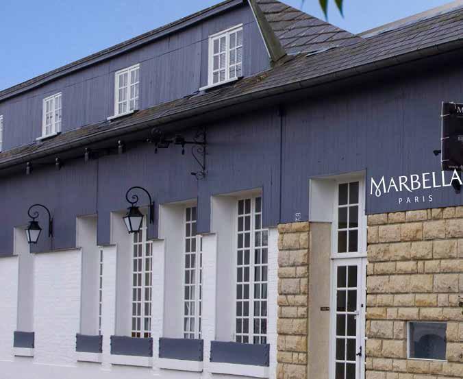 Les ateliers de Marbella dans le village de Sailly-Laurette remplacent l'ancien établissement de la mère d'Adeline Moniez.