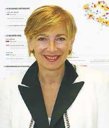 Yvonne Pérot, directrice régionale de l'Insee Picardie. L'institution a publié son bilan économique 2013 fin mai, contre mi-avril l'année dernière, en raison des échéances électorales.