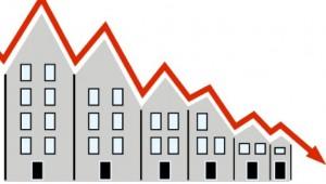 Partout dans le monde, les prix de l'immobilier ont chuté dès le début de la crise.